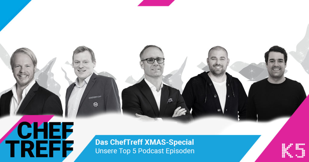 ChefTreff XMAS-Special - die Top 5 E-Commerce Podcasts