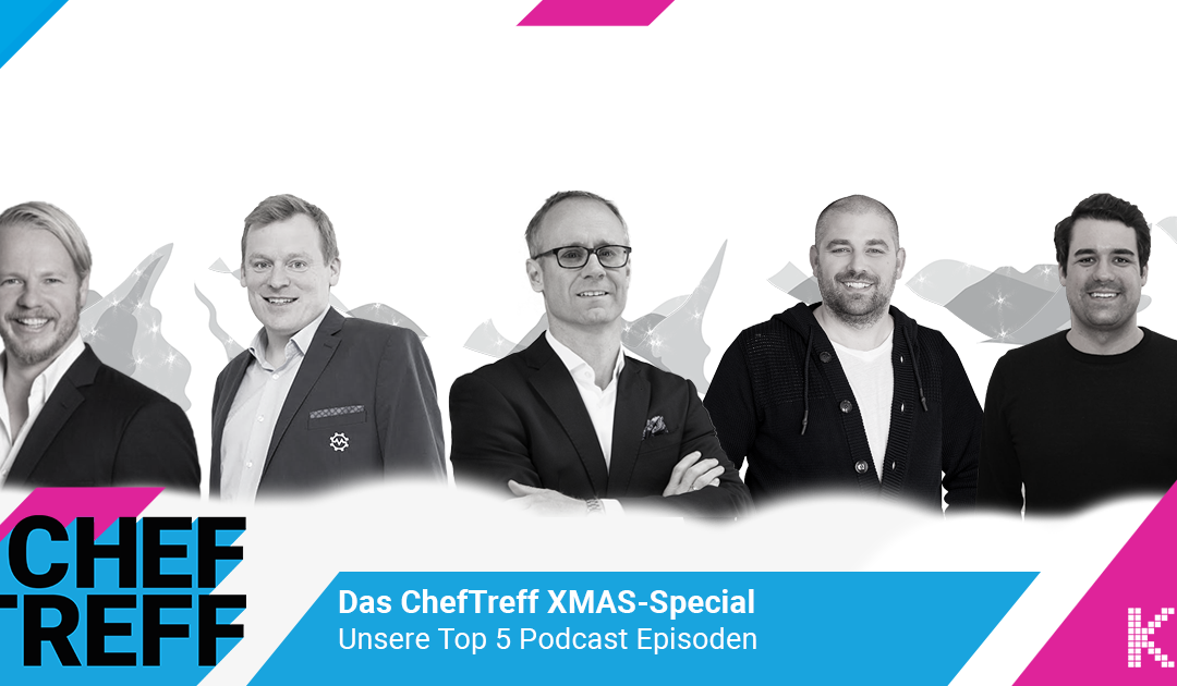 ChefTreff XMAS-Special – die Top 5 E-Commerce Podcasts