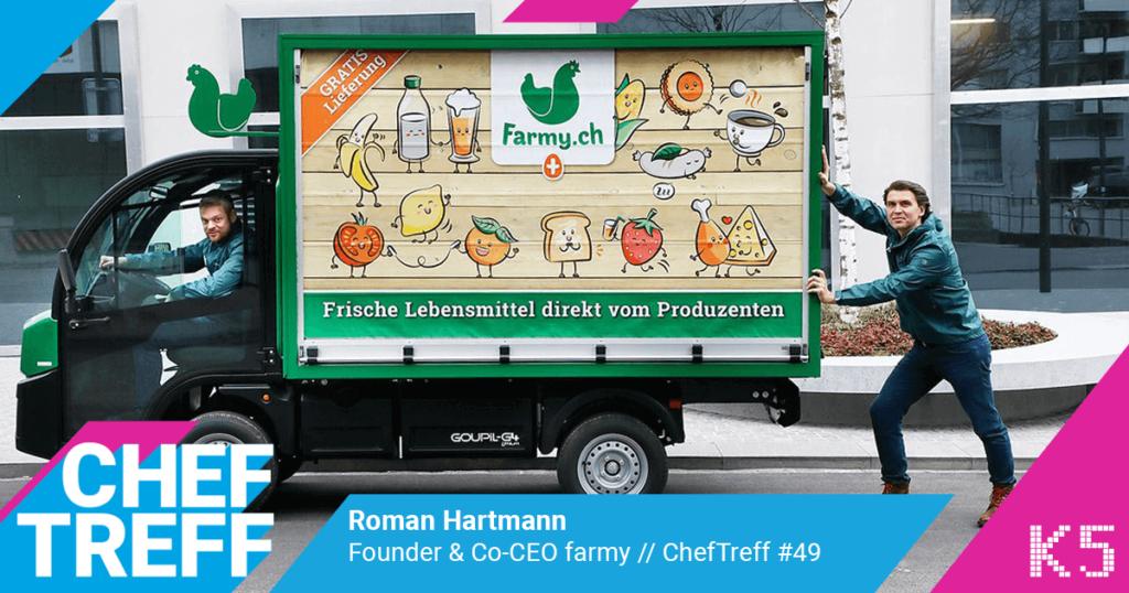 """""""The trend is your friend"""" - Wie farmy.ch den Schweizer Lebensmittelhandel aufmischt!"""