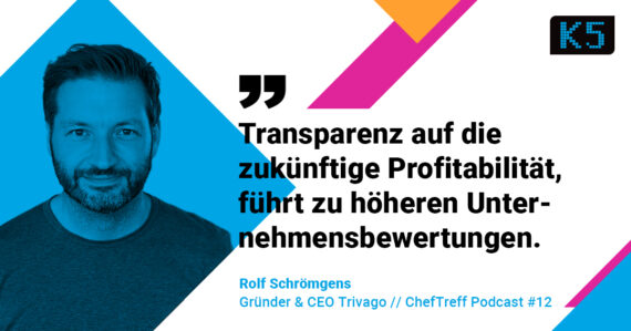 Rolf Schroemgens, Founder & CEO trivago