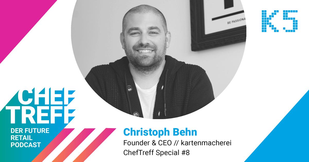 Sei kreativ und nah am Kunden – Interview Special mit Christoph Behn von kartenmacherei während der Corona Krise