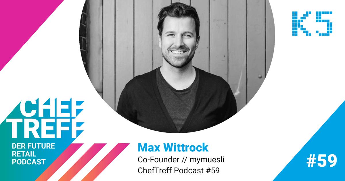 Max Wittrock, Co-Founder mymuesli ist Experte der Coaching Class In 5 Schritten zur eigenen Geschäftsidee von der K5 School of Masterminds