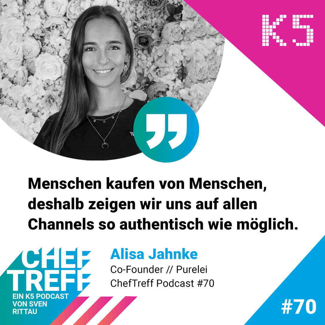 Alisa Jahnke, CEO PURELEI, über die authentische Kommunikation auf Social Media Channels