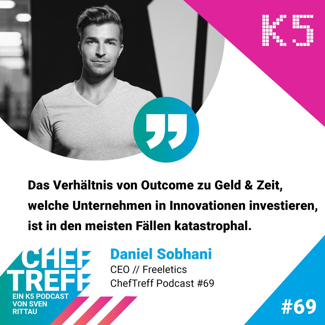 Daniel Sobhani, CEO Freeletics, über Investitionen und ihr Outcome