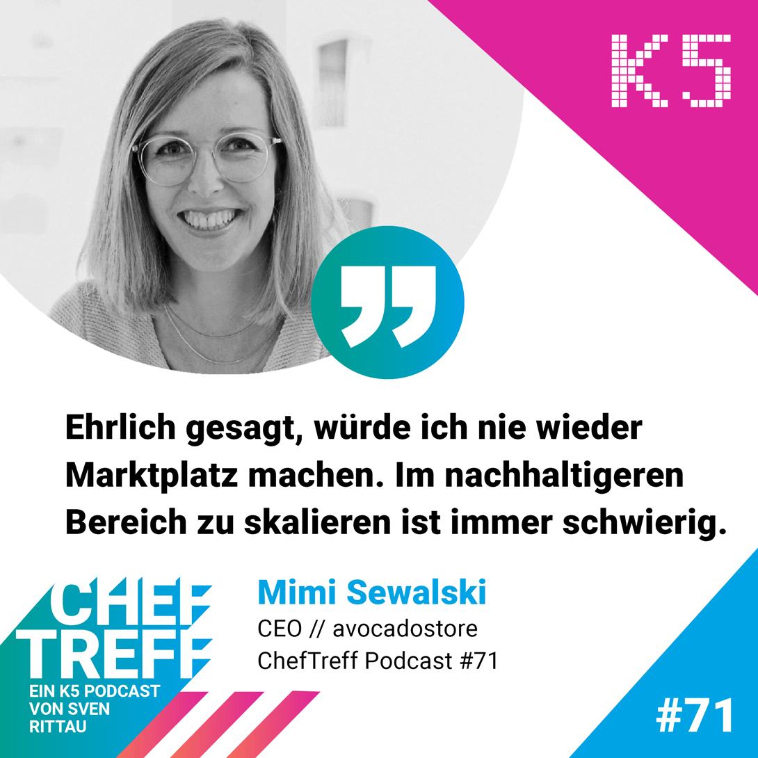 Mimi Sewalski über die Schwierigkeiten eines Online Marktplatzes im Bereich nachhaltiger Produkte