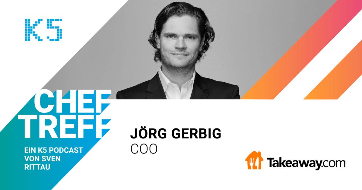Jörg Gerbig COO Takeaway.com