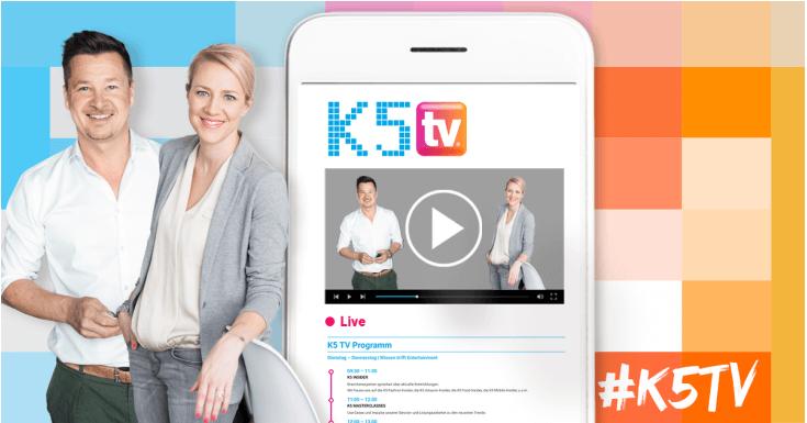 K5 TV: Dein TV-Programm rund um E-Commerce mi Verena Schlüpmann und Sven Rittau