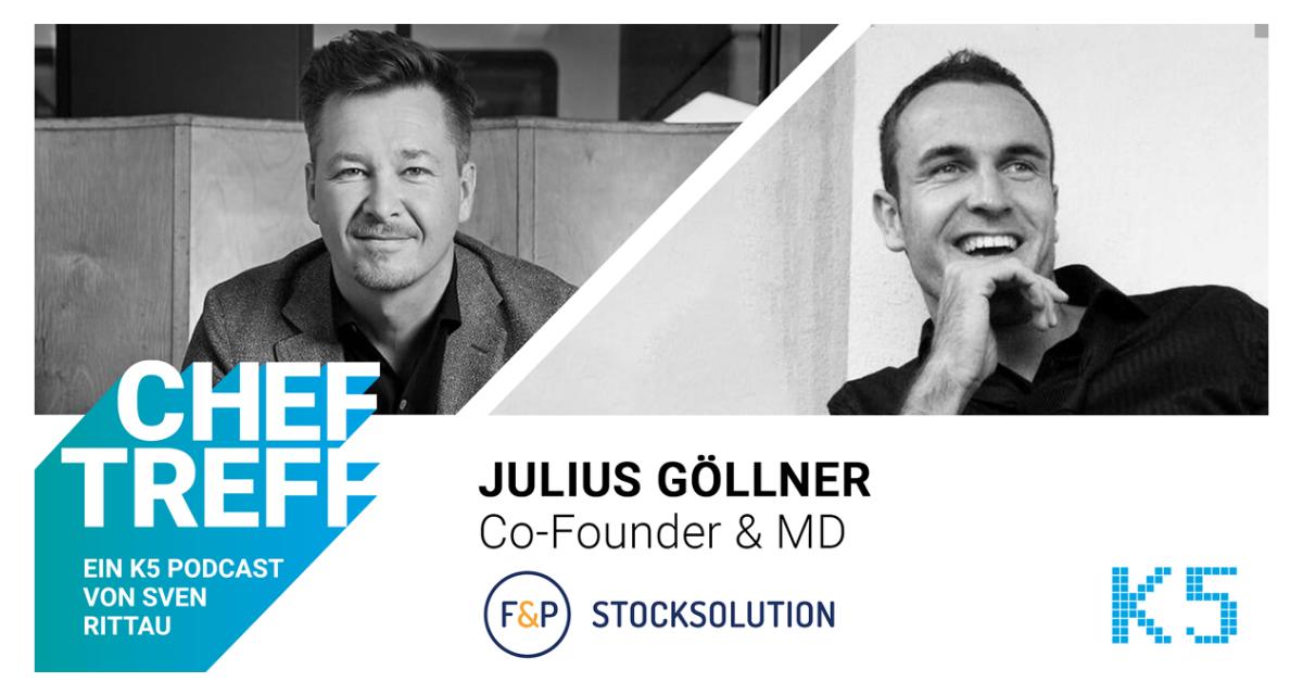 """Business Angel mit """"Zug zum Tor"""" – Interview mit Julius Göllner, Co-Founder F&P Stock Solution"""