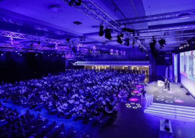 Conference Stage - Blick ins Publikum 2019
