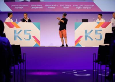 Bühne Vortrag von Digital Kompakt
