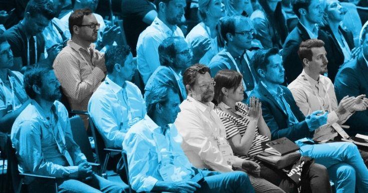Blick ins Publikum der Konferenz