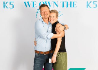 Verena Schlüppmann und Sven Rittau