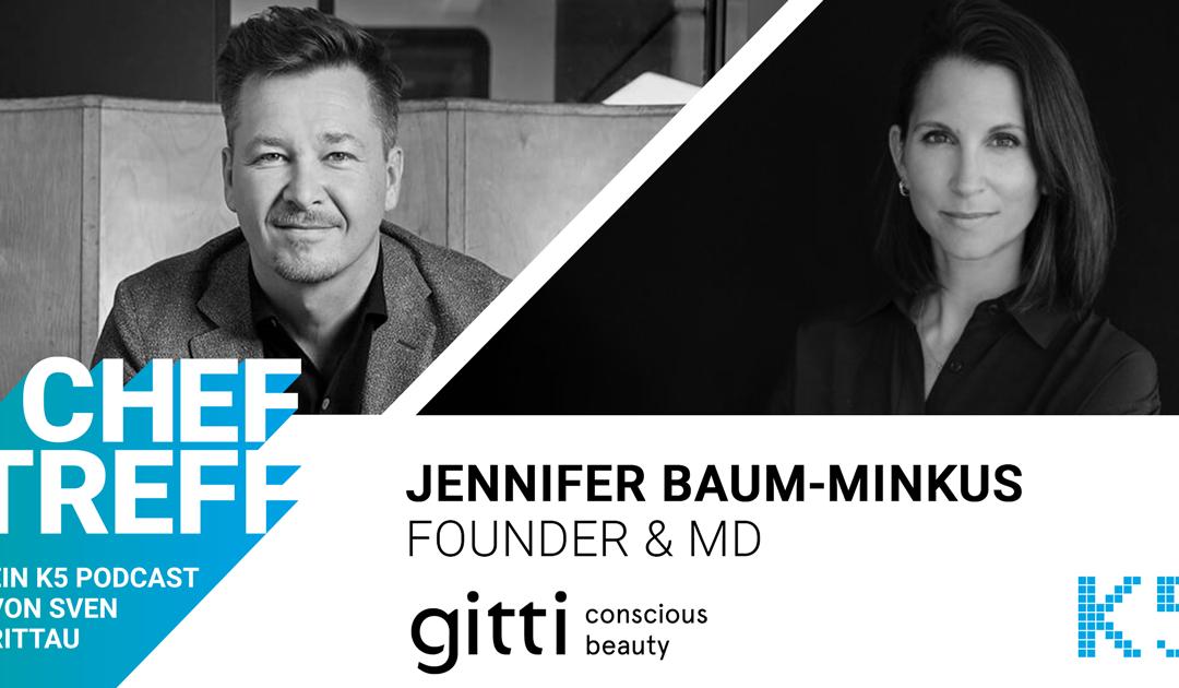 Durch Drop Marketing binnen weniger Stunden ausverkauft – Jennifer Baum-Minkus, Founder & MD von gitti conscious beauty im Gespräch