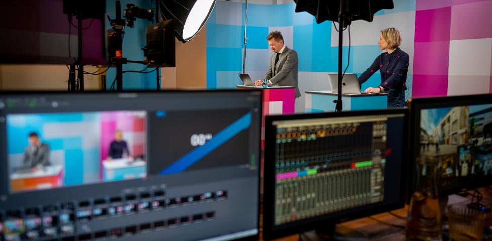 Blick ins Studio K5 TV Staffel 2