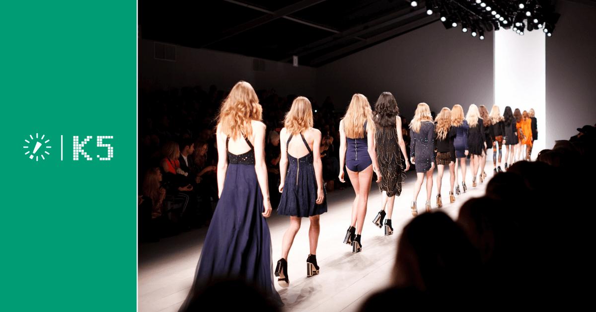 Catwalk - Models auf dem Laufsteg