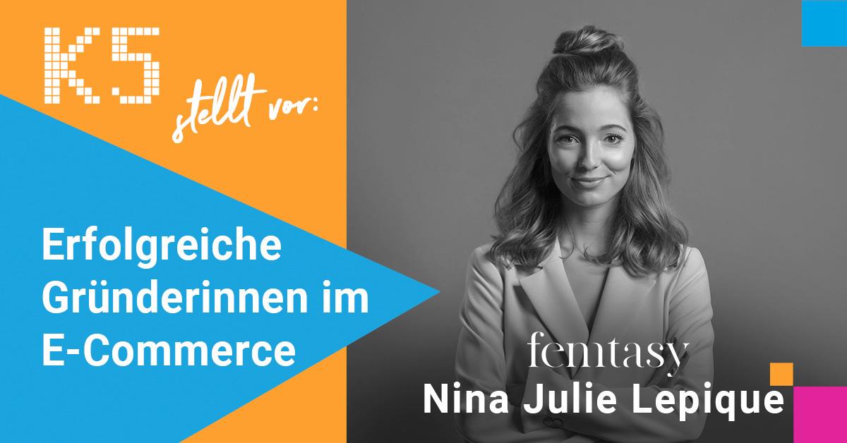 Startbild Erfolgreiche Gründerinnen Serice Nina Julie Lepique von femtasy