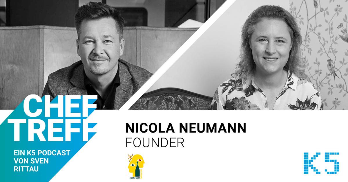 Champagne Characters Nicola Neumann