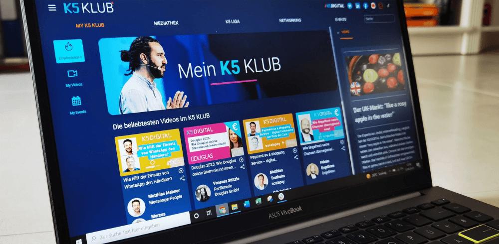 K5 KLUB im neuen Design