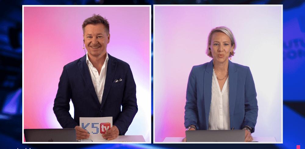 K5 TV mit Sven Rittau und Verena Schlüpmann