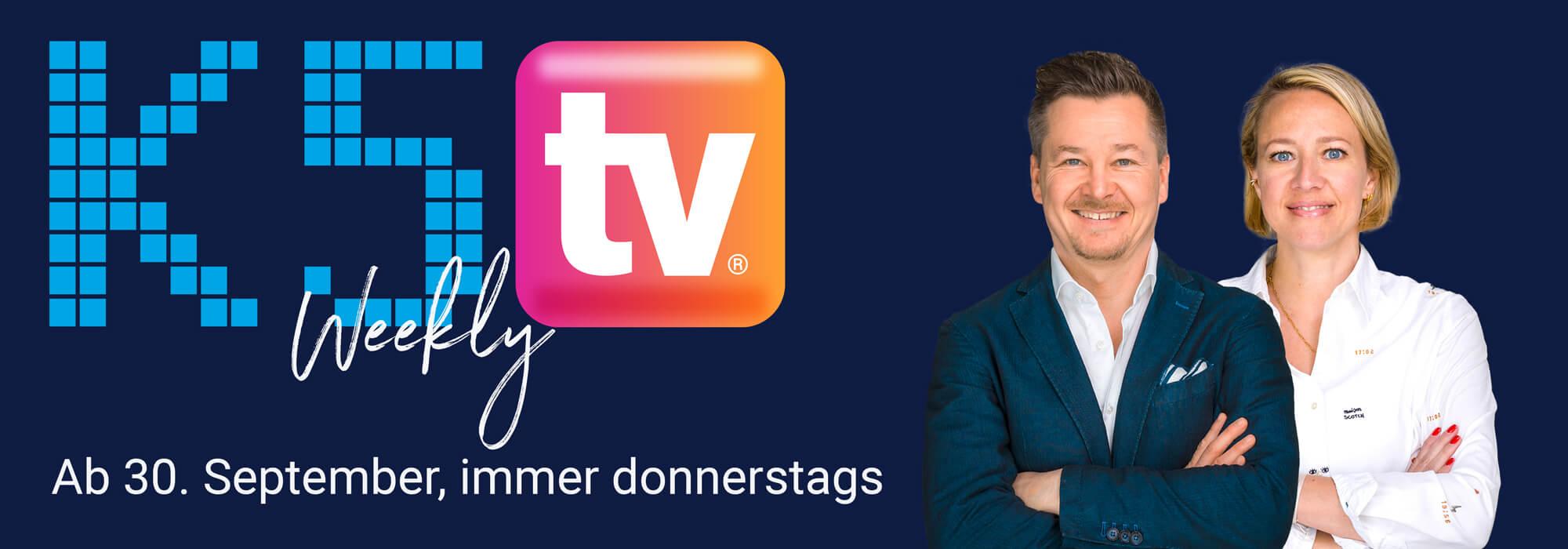 K5 TV ab 30. September, immer donnerstags