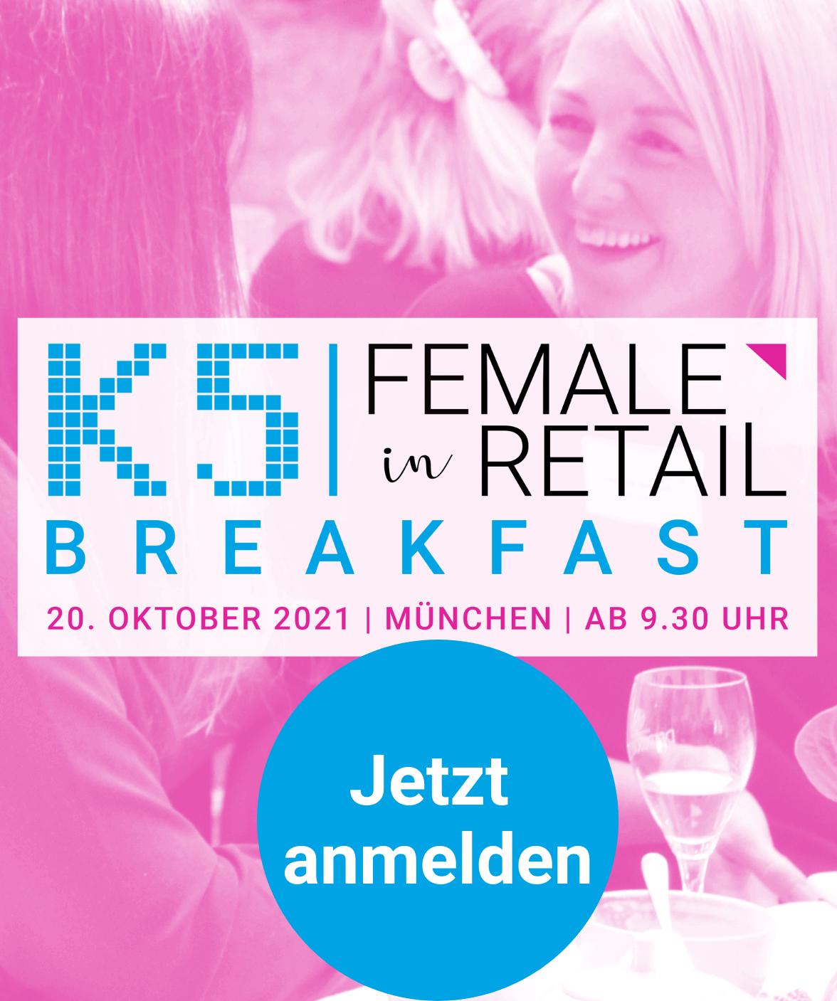 Female in Retail Frühstück