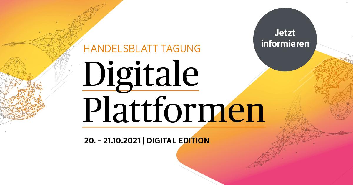Digitale Plattformen Handelblatt